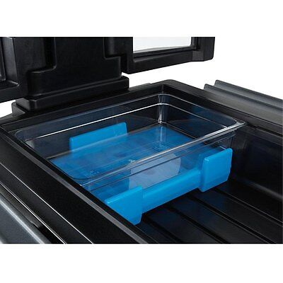 Cambro CPB1220159 Cold Blue Salad Bar Buffet Camchiller 18-1/2 x 12-5/8 x 4