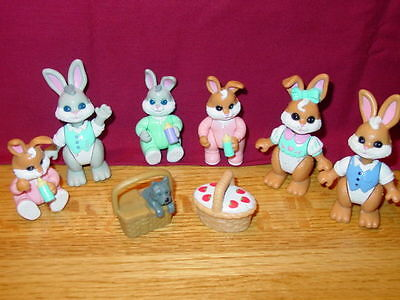 Fisher Price Hideaway Hollow Bunny Lot