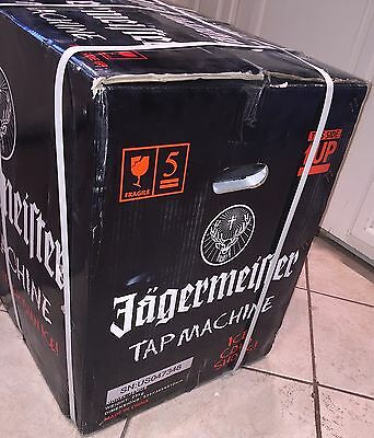 Jagermeister 3 Bottle Tap Machine New in Box Sealed Jager Man Cave