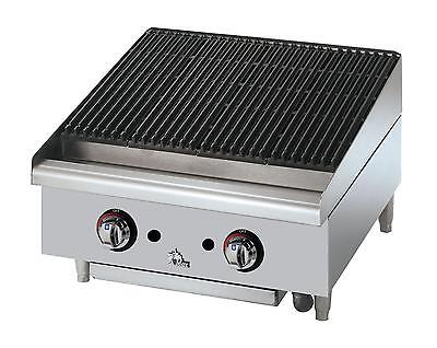 Star 6124RCBF Star-Max Countertop 24in Radiant Gas Charbroiler
