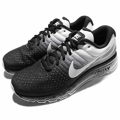 Nike Air Max 2017 Black White Men Running Shoes Sneakers Trainers 360 849559-010
