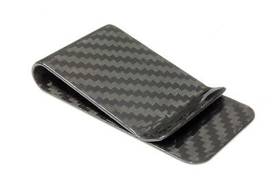 100% Carbon Moneyclip - Geld klammer - Portmonaie - Money Clip