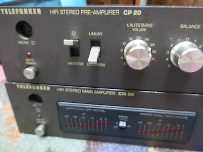Telefunken Audio Pre Amp and  connector  Clean Sound / Clear out price