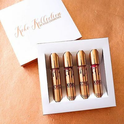 koko kollection by kylie gloss lip rouge a levre 4 pieces