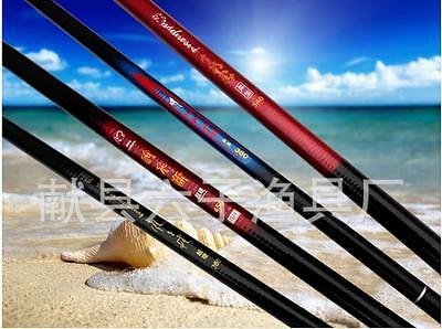 3.6m-7.2m Carbon Fiber Stream Pole Telescopic Spinning Freshwater Fishing Rod