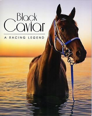 2013 Black Caviar A Racing Legend 3 Sheet Stamp Pack, Mint Condition