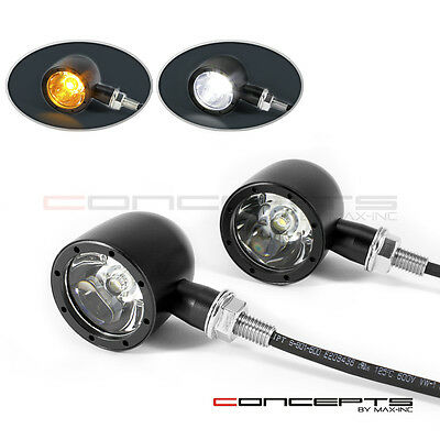 MAX Integrated Motorcycle LED Indicator Turn Signal DRL Daytime Running Lights