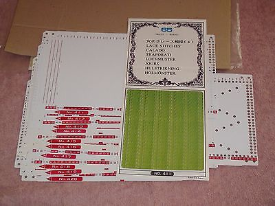 Knitting Machine Accessory Punch Cards Series 65