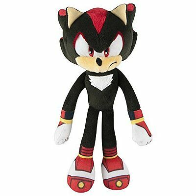 "Sonic Boom 8"" Plush Soft Toy - Shadow - T22318 - New"