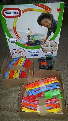 Little tikes pre school tumble tumblin train set kit boxed