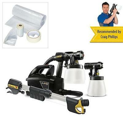 Wagner Universal Sprayer W699 Flexio with Universal Masking Kit and Extension