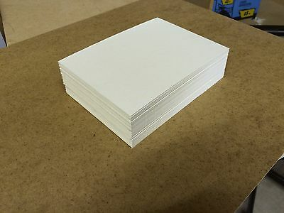 """PACK OF 30 8x6"""" CREAM MOUNT CARD/BOARD SCHOOLS ARTS CRAFTS NEW FREE DELIVERY"""