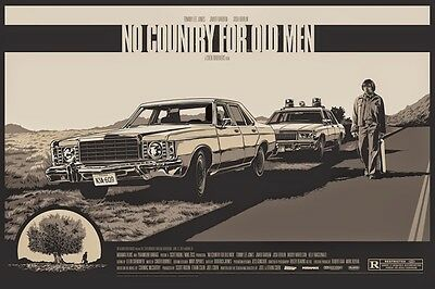 No Country for Old Men Mondo Alternative Movie Poster by Ken Taylor AP No. 6/17