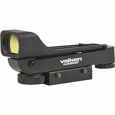 Valken Outdoor Tactical Red Dot Sight. Paintball, Airsoft. 20mm picatinny rail.