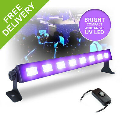 LED BAR Black-Light UV Tube Ultraviolet Strip Lighting Mobile DJ Disco Party