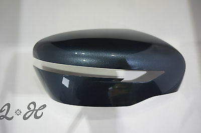 Nissan X-Trail Right Drivers Side Wing Mirror Cover Cap Haptic Blue Xtrail