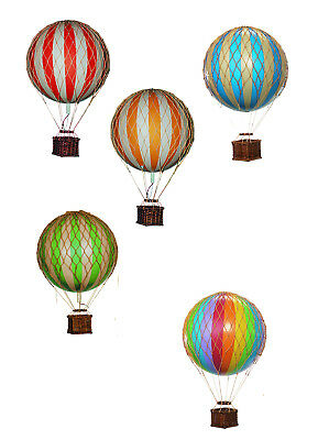 Authentic Models Floating The Skies, True Red - Ballon, rot, 8cm