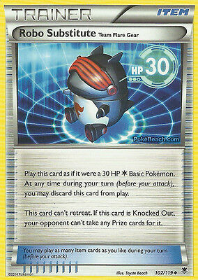 Robo Substitute 102/119 - Xy Phantom Forces Pokemon Holo Trainer Card