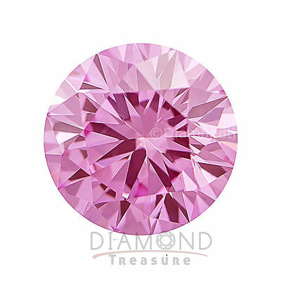 5.00 mm to 11.00 mm Light Pink Round Cut Loose Moissanite Diamond