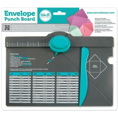 We R Memory Keepers Envelope making maker Punch Board 71277