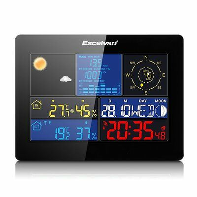 Wireless Home Weather Station Best Family Wind Speed Rain Temperature Humidity