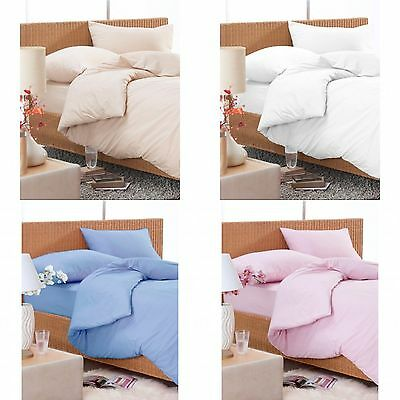 Flat sheet soft 100% poly cotton Single, Double, King and Super King
