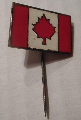 Old Canadian Flag Pin.