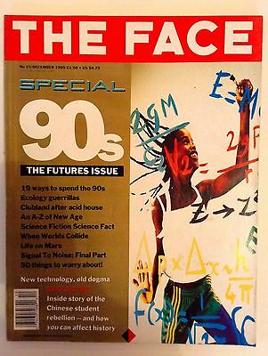 The Face Magazine-Vol 2-No15-December 1989-90's The Futures Issue-Nice Condition