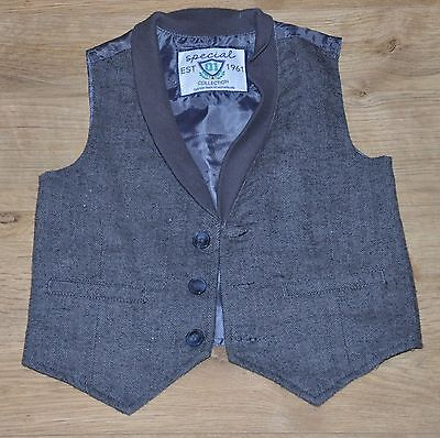 Smart Waistcoat Top from Mothercare for 12-18  months old baby boy