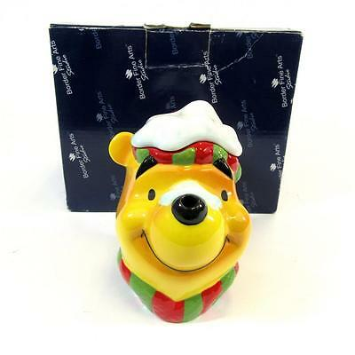 Walt Disney Winnie The Pooh- Winter/Christmas Teapot- Border fine arts- Boxed