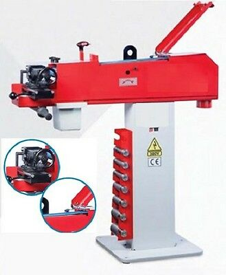 Tube - Pipe Notcher Notching Machine with 8 rollers