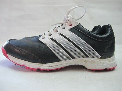 Womens Adidas Response Light Black Pink Lace Up Golf Sport Shoes Uk 7 EUR 40.5