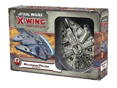 Star Wars-X-Wing-Game-Millennium Falcon-Expansion Pack-Tabletop-neu-englisch