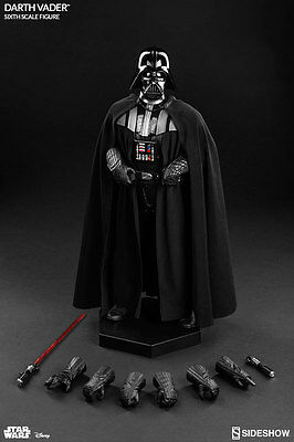 "Star Wars ROTJ Darth Vader Sixth Scale Figure 1:6 Sideshow 12"" Inch Figure"