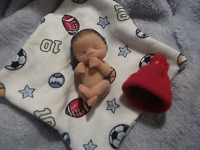 Ooak Full Sculpted Newborn Baby Boy Jason 2.5'' resale
