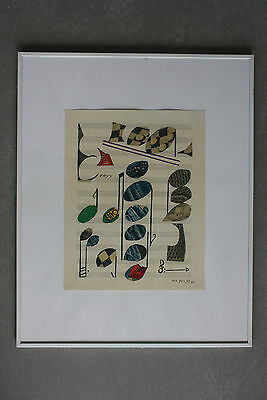 Alberto Magnelli Lithographie Lithograph XXe Siècle 1971