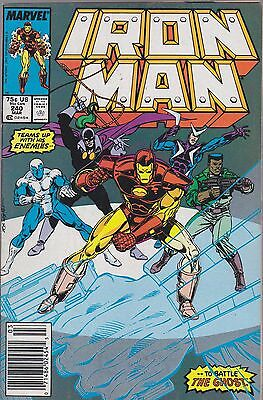 Iron Man #240 Marvel 1989 Ghost Righter