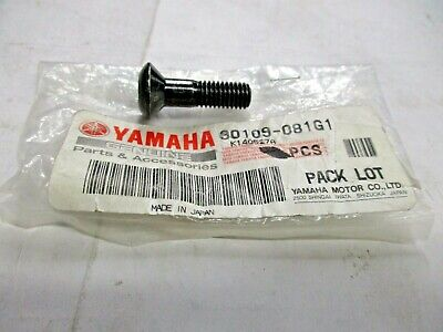 Yamaha OEM 90109-081G1-00 Bolt Ships today No shipping charge for 2nd or more