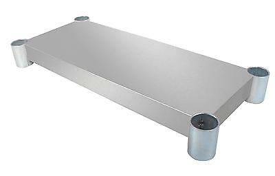 BK Resources Additional Stainless Steel Undershelf for 24 x 36 Work Table