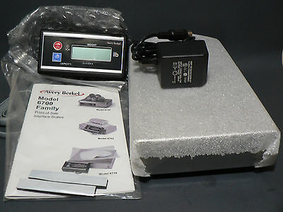 Avery Berkel Model 6702  Point Of Sale Interface Scale 15Lb Capacity