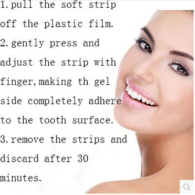 14 x      PROFESSIONAL TEETH WHITENING 7 POUCHES BLEACHING STRIPS SAFE