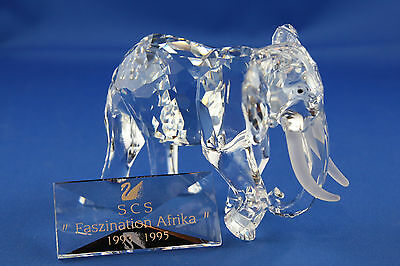 :-) Swarovski SCS Jahresfigur / Annual Edition 1993 Der Elefant / The Elephant