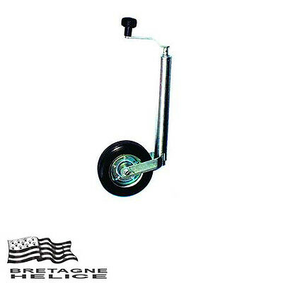 Roue Jockey Ø Fut 42 Mm Charge 65 Kg Max