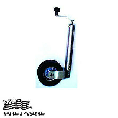 Roue Jockey Ø Fut 60 Mm Charge 120 Kg Max