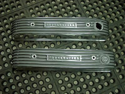 NOS Offy Offenhauser Buick Nailhead 401 425 finned aluminum hot rod valve covers