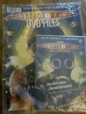 Doctor Who DVD Files Series 1 Episodes 9 and 10 with magazine