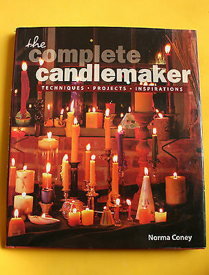 """1997 """"Complete Candlemaker"""" Coney, projects,beeswax, spiral, scented, HBDJ book"""