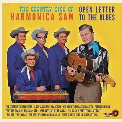 """Country Side Of Harm - Open Letter to the Blues [New 12"""" Vinyl] Spain -"""