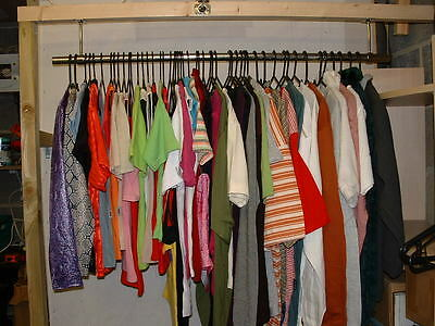 50 pieces brand NEW Clothing, Wholesale Job Lot, assorted ladies, mens, kids.
