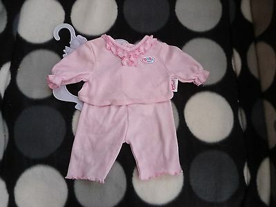 Sweet BABY BORN Doll ~ 2 Piece OUTFIT Suit CLOTHES Set